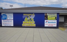 Hornet Stadium Concession Stand With Custom Graphics