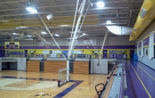 View of Avondale Basketball Court With Custom Graphics